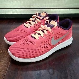 Nike Free Run Running Shoes Youth Size 3.5